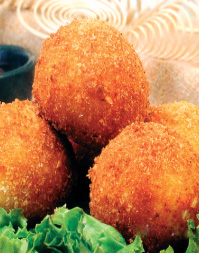 Mashed Potato Balls with Cheese